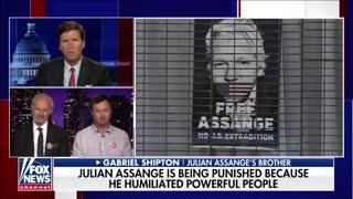 Julian Assange's family speak out on 'Tucker Carlson Tonight'