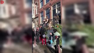 Big party in Amsterdam