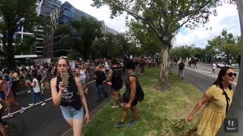 Millions March Melbourne