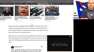 Biden Scripted, Fake Presser - 20130325