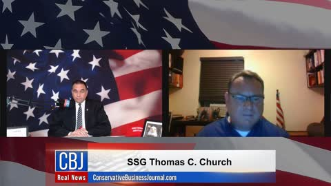 CBJ Real News Podcast Show (Part 227): Special Guest SSG Thomas Church