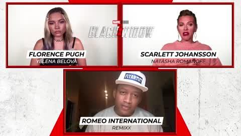Scarlett Johansson, Florence Pugh, Romeo International