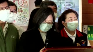 Taiwan leader pledges to help train crash victims