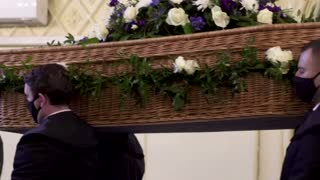 Inside a British funeral home grappling with COVID
