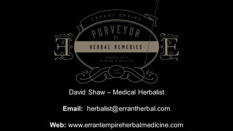 Herbal Medicine Outro - Online Shop Now Open