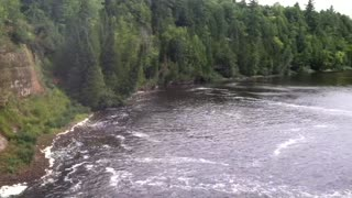 Tahquamenon Falls state park upper peninsula Michigan