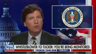 Tucker Carlson reveals the Biden administration is spying on him.