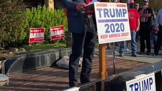 Trump Support Rally Lumberton Texas Part 2