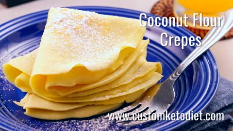 Keto Coconut Flour Crepes 2