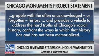 Carley Shimkus, Bill Hemmer, And Dana Perino Discuss Chicago Statues