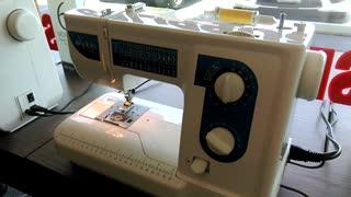 Elna 340 sewing 10 layers of denim