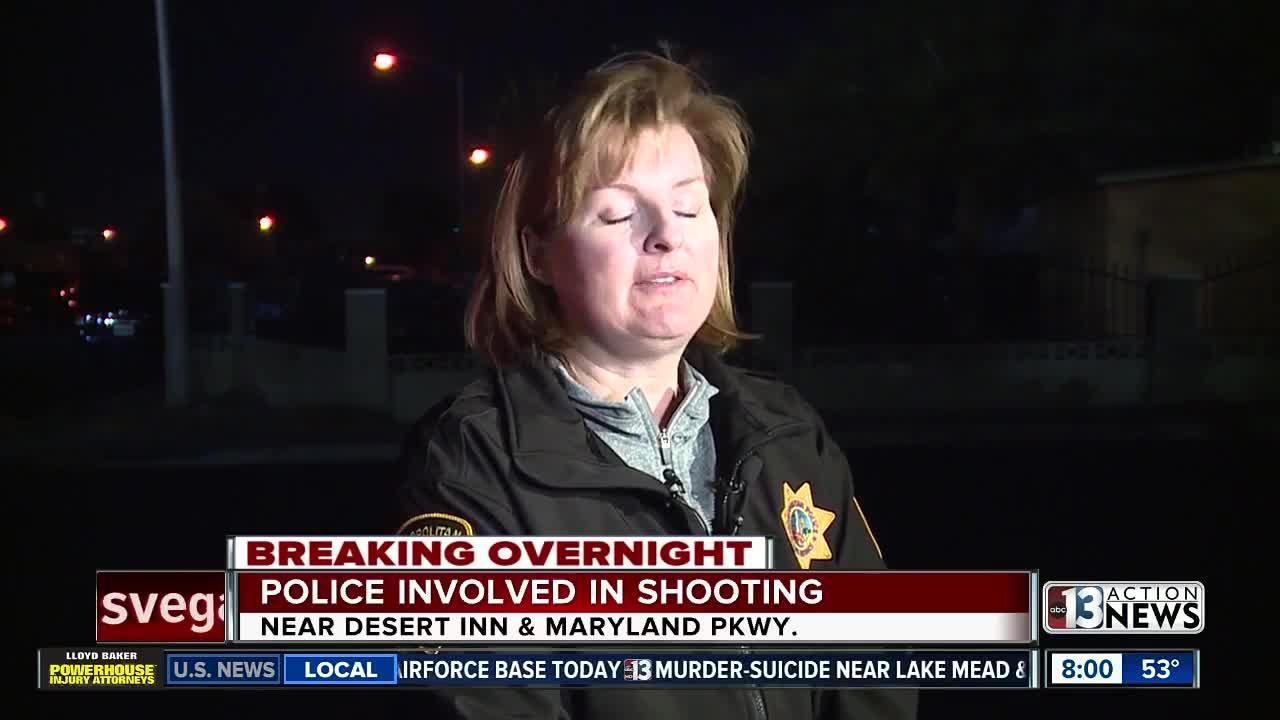 Las Vegas police involved shooting