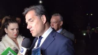 Δηλώσεις Άδωνι Γεωργιάδη στο δείπνο του ΣΘΕΒ στη Λάρισα