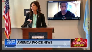 Kristi Noem Defends Title IX