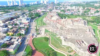 Recorrido por el Fuerte San Felipe de Barajas, en Cartagena