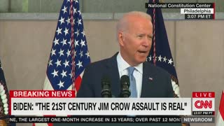 Biden Slams Republicans Over Voting Laws