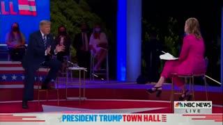 "NBC Attempts ""White Supremacy"" Gotcha Question - Trump Shuts Them Down"