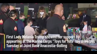 Toys For Tots & First Lady Melania Trump