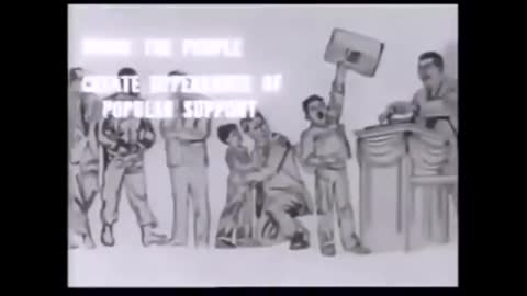 COMMUNIST STRATEGY: DIVIDE AND CONQUER FROM WITHIN [1965] US GOVERNMENT (DOCUMENTARY VIDEO)