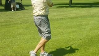 Me golfing