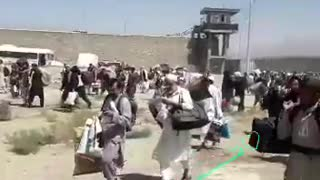 Harrowing Video Shows Aftermath Of Taliban Prison Break In Afghanistan