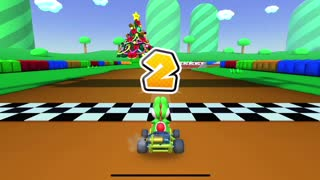 Mario Kart Tour - Clearing Dry Bowser Cup Challenge Do Jump Boosts