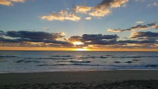 Palm Beach Beach sunrise
