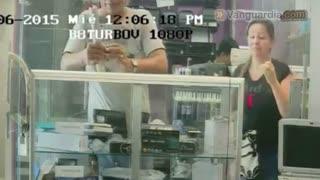 Registran hurto de celular en Centro Comercial de Bucaramanga