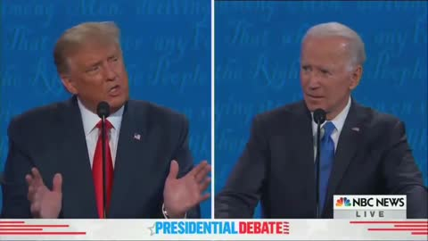 President Trump: If Biden Did a Good Job I Wouldn't Have Had to Run for President