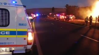 Hidcote KZN Midlands collision