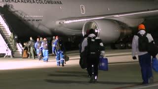 Operación regreso de Wuhan a Colombia