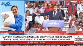 Mike Lindell Speech Before President Trump