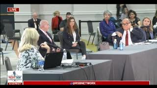 Judith Burns' Testimony During Arizona Legislature Hearing on Election Fraud