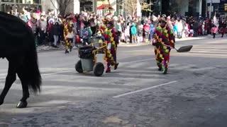 Santa Parade funday parade