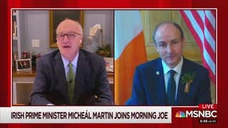 Ireland's Prime Minister Compliments Joe Biden