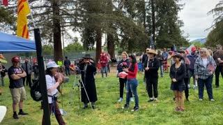 San Jose Freedom Rally Recall Newsom
