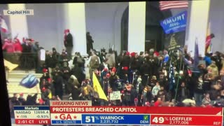 WATCH: Protesters Storm the Capitol Building as Politicians are Evacuated