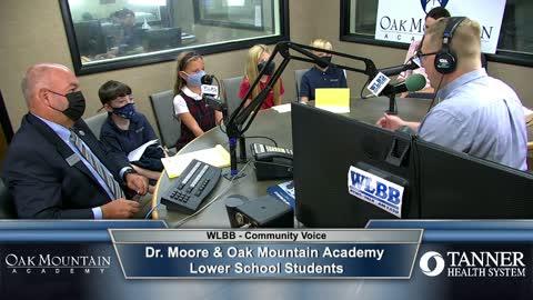 Community Voice 9/14/21 - Dr. Moore & Oak Mountain Academy Lower School Students
