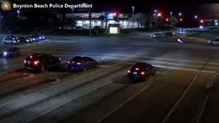 Red light violation leads to serious crash