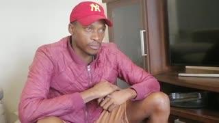SA long jump star Luvo Manyonga