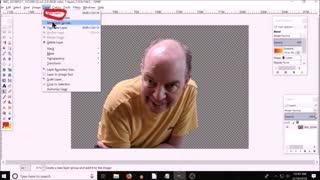 GIMP blend tool