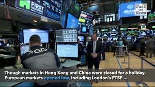 U.S. futures, global markets down following POTUS coronavirus diagnosis