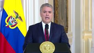 Habla Iván Duque sobre desmanes en Bogotá