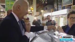 Journalism?? MSNBC Runs Bizarre Segment on Biden's Ice Cream Habits