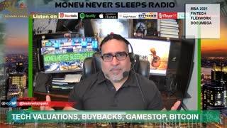 Money Never Sleeps Radio with Louis Velazquez, Mar 9, 2021