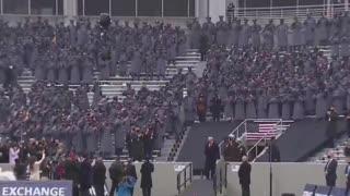 President Trump At Army Navy Football - USA! USA! USA! - Goosebumps