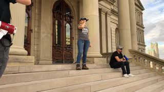 Day 4 Michigan State Capitol STOP THE STEAL Video 2