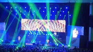 Rap concert in Korea