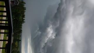 Alberta Storm Over The Lake