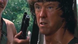 Trump-Rambo getting it done